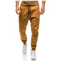 Brand Men Pants Hip Hop Harem Joggers Pants 2018 Male Trousers Mens Joggers Solid Pants Sweatpants