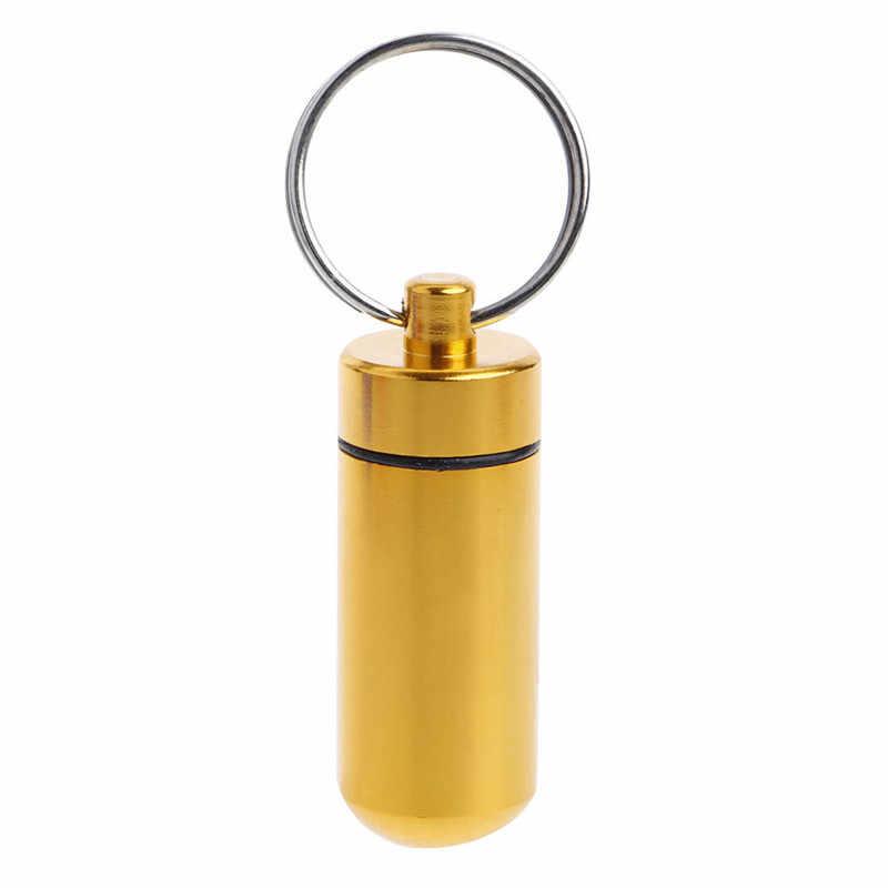 6 ألوان المحمولة صندوق تخزين مستلزمات طبية البسيطة سبائك الألومنيوم للماء حبة اللوحي حقيبة للتخزين حاوية شحن مجاني