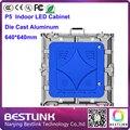 P5 крытый светодиодный экран литой алюминиевый корпус 640*640 мм 1/16 s крытый светодиодные видео стены для аренда светодиодного табло
