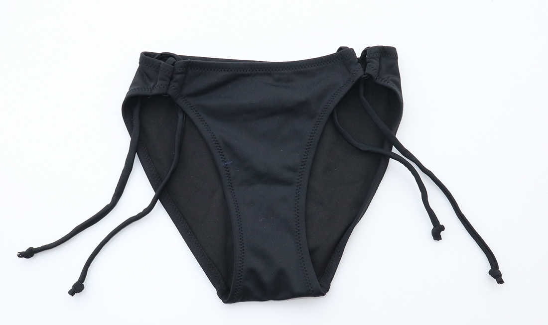 Femmes Triangle Bikini 2019 maillot de bain noir Bikinis maillot de bain maillot de bain Sexy Secret joue bas maillot de bain