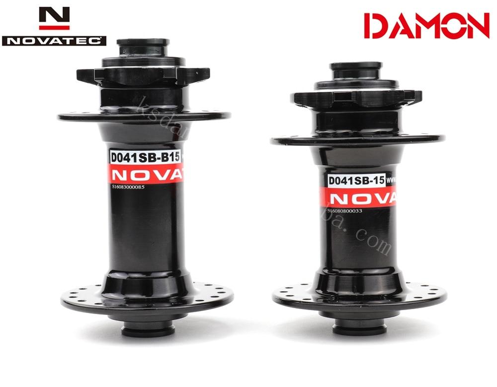 Novatec D041SB B15 D041SB 15 MTB Bike Disc Brake 32 36 Holes 15 110mm 15 100mm