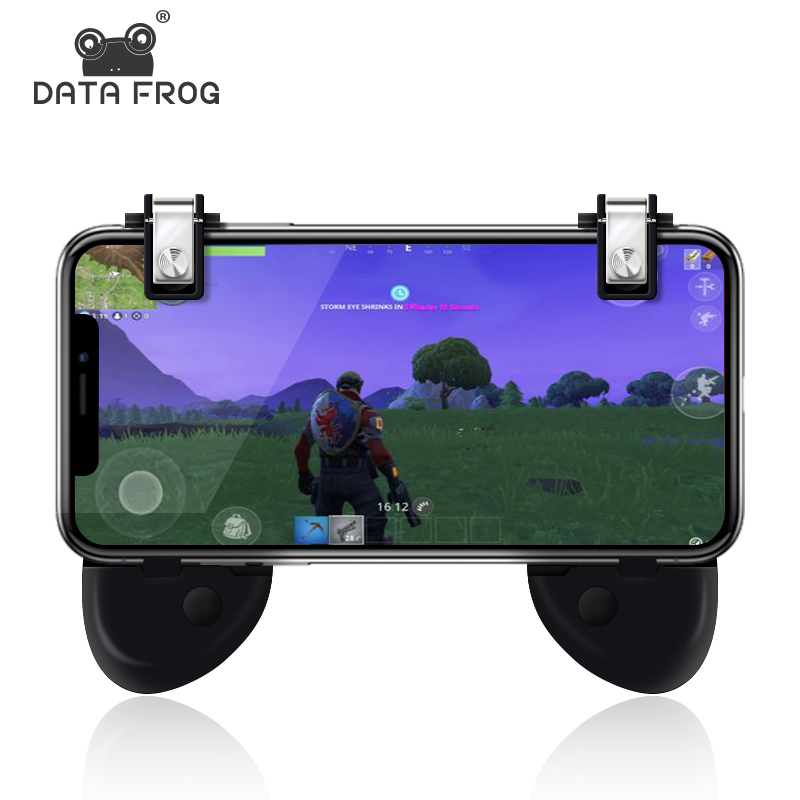 Data Frog For PUBG Mobile Game Controller L1R1 Shooter Joyst