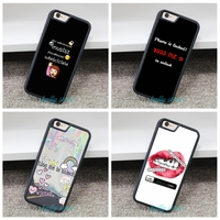 KIss To Unlock Fashion Phone Cover Case For Iphone 4 4S 5 5S 5C SE 6