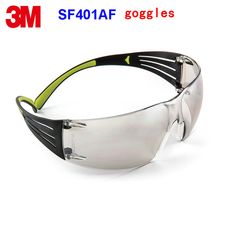 3M SF401AF  goggles Genuine security 3M protective goggles Two colors streamline Anti-UV SF400 series safety glasses3M SF401AF  goggles Genuine security 3M protective goggles Two colors streamline Anti-UV SF400 series safety glasses