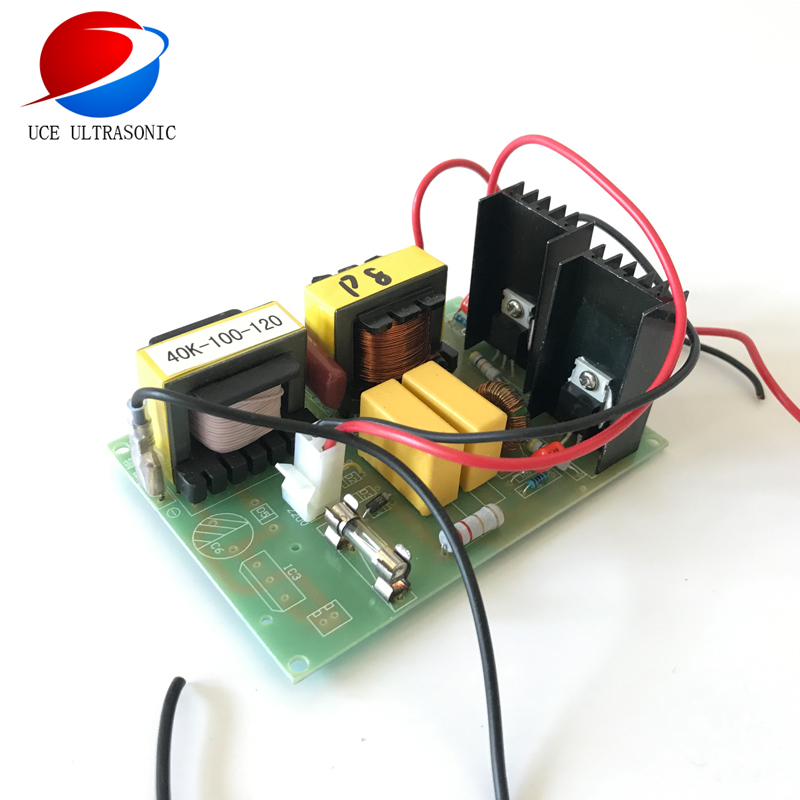 Hotsale Ultrasonic generator PCB FREE SHIPPING Ultrasonic PCB board ultrasonic cleaning transducer driver 40K100W 220V sc0108t2a0 17 driver board