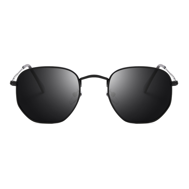 88c356c2fc TSHING RAY Men Hexagonal Flat Lenses Aviation Polarized Sunglasses Brand  Designer New Retro Women Mirror Driving Sun Glasses