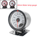 Water temp gauge 60MM D*FI CR Water temp gauge White Face with White & Red Lighting/car Auto Gauge/Tachometer/Racing car Meter