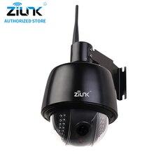 ZILNK 960 P HD Cámara Domo PTZ 5x Zoom Óptico A Prueba de agua Soporte de Tarjeta TF Cámara IP WiFi ONVIF H.264 de Detección de Movimiento Negro