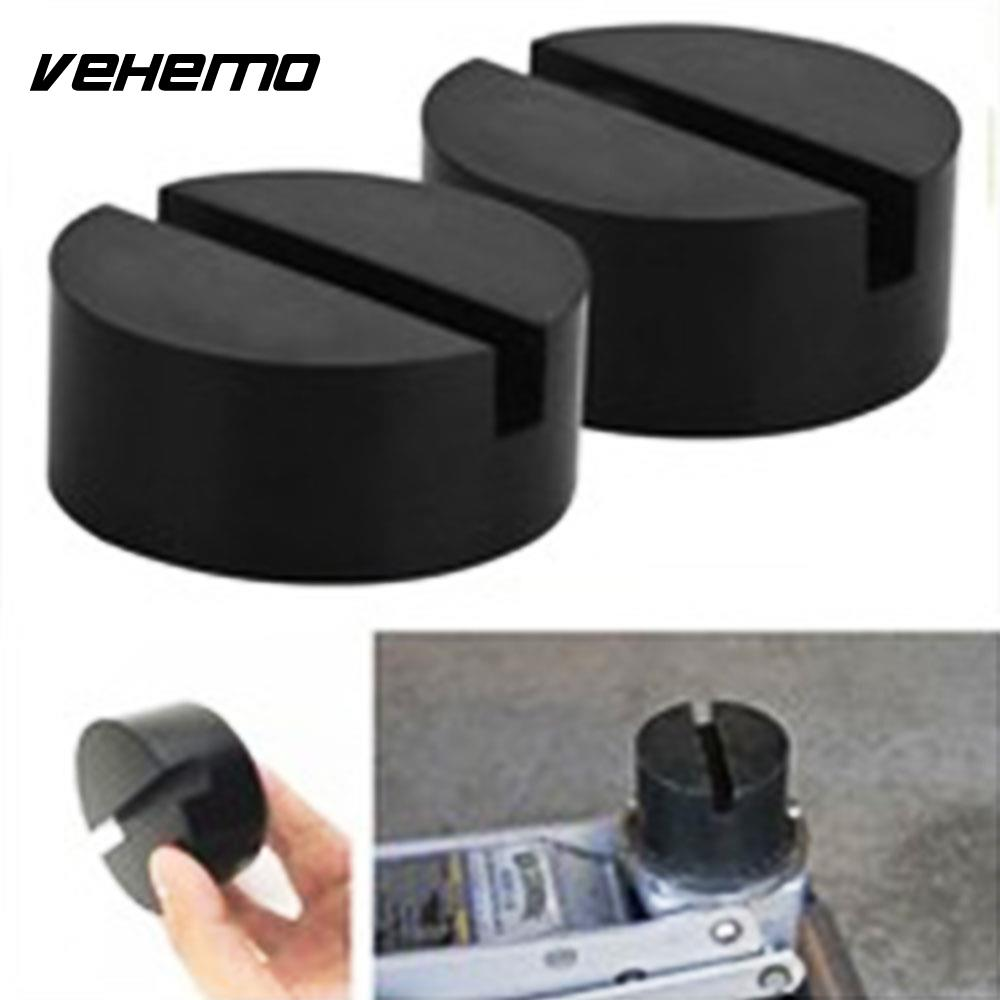 Vehemo Car Rubber Disc Pad Car Vehicle Jacks Jack Pad