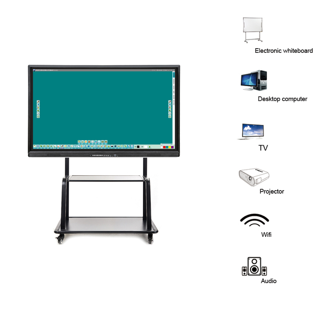 55 inch multi touch screen display smart board interactive ...
