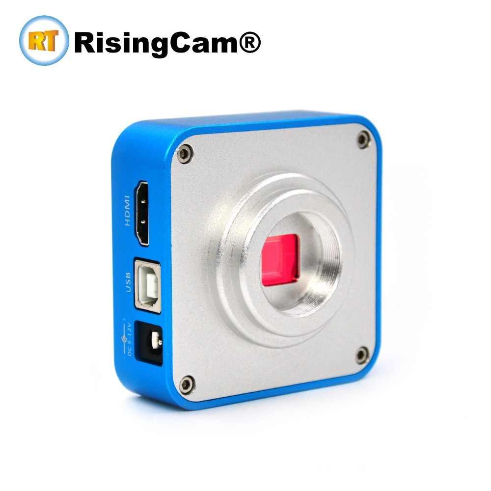 รีโมทคอนโทรล Full HD 1080P 60FPS 16MP HDMI USB C กล้องจุลทรรศน์วิดีโอดิจิตอลกล้องสำหรับอุตสาหกรรมซ่อม PCB