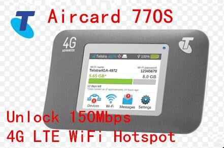 Разблокировать 150 Мбит Sierra Wireless Aircard 770 S Портативный 4 Г LTE Mobile Hotspot Wi-Fi Поддержка Северной и Южной Америки