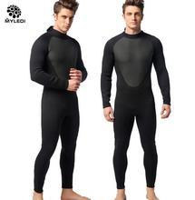 MYLEGEND Мужчины 3 ММ Толщиной Пункт Цельный Длинные Гидрокостюме Мужчины Swim Wear износостойкости Носить Серфинг теплый Гидрокостюм Размер S-XXL