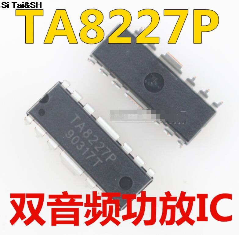 1PCS/LOT TA8227P =TA8227APL=UTC8227  DIP Integrated Circuit