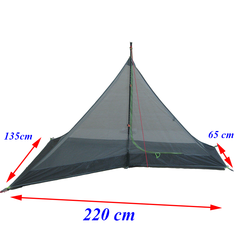 220*65/135*125 cm/ 220*135*125cm  ASTA 1 person/ 2 person  high quality summer outdoor camping mesh tent-in Tents from Sports & Entertainment    1