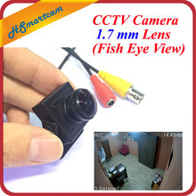 New cctv mini cam 700TVL 140 degree Ultra Wide Angle 1.7 mm Lens (Fish Eye View) Color Video mini Camera For SD Cam DVR Systems