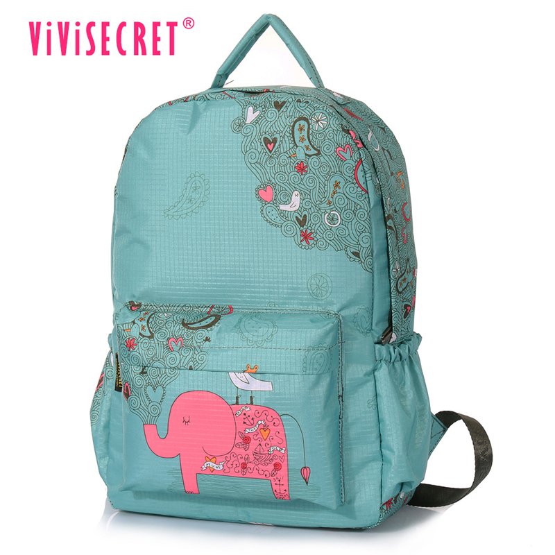 VIVISECRET new cartoon elephant school bags mochila escolar infantil computer children backpacks girls boys school bag kids bag стоимость