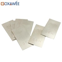 5pcs Pack Silver Welding Soldering Plate For Jewelry Welding Soldering Tools 900 Silver Welding Plate Welding
