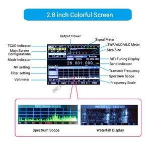 Image 4 - RETEVIS Ailunce HS1 HF SDR verici SSB telsiz amatör radyo HF alıcı verici QRP 15W 0.5 30MHz SSB radyo CW AM FM HF bandı