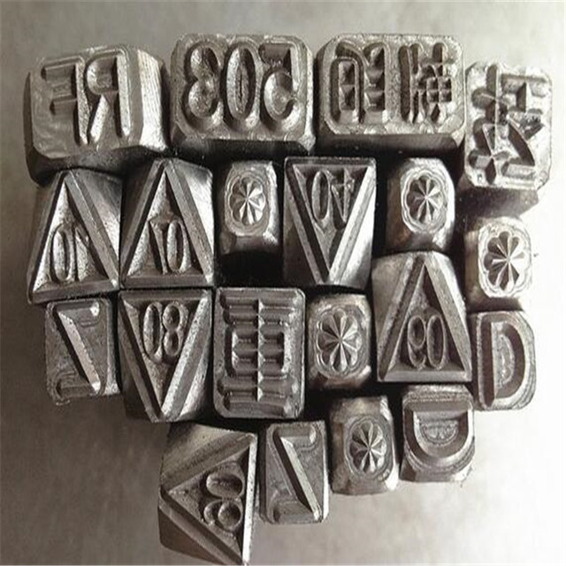 Steel Stamp Metal DIY Handmade For Jewelers Custom Made Carving Leather Craft Stamps Set