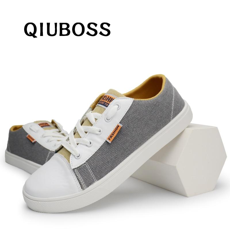 Zapatos De Vulcanizables Para Lona Hombre Moda Tendencia uPZOXiwkT