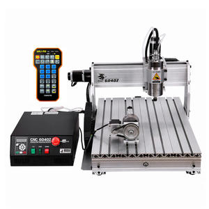 Router Engraving-Machine Cnc-Engraver Cnc 6040 Cutter-Bit Woodworking Milling 4-Axis cnc