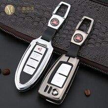 For Nissan X-trail Qashqai Tiida Key Case Cover Key Shell Storage Bag Saver Car Key Remote Control Protective Holder Case Teana цена