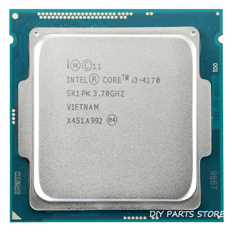 Intel Core I3-4170 I3 4170  3.7GHz Quad-Core  3MB RAM DDR3-1600 DDR3-1333 TDP 54W