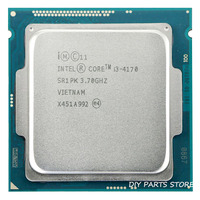 Intel core i3 4170 i3 4170 3.7GHz Quad Core 3MB RAM DDR3 1600 DDR3 1333 TDP 54W