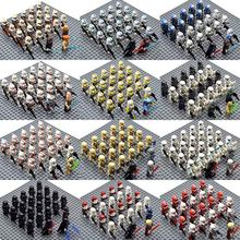 23pcs/set Star Wars Legion 41st Elite Corps Stormtroopers Snowtrooper Palpatine Yoda Anakin Building Blocks Bricks Toys(China)