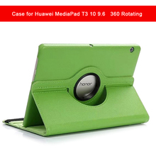 360 Rotating Case for Huawei MediaPad T3 10 9.6 AGS-L09 AGS-L03 Folding Stand Cover for Honor Play Pad 2 9.6 inch Anti-Dust plating cartoon case for huawei mediapad t3 10 cases 9 6 inch smart stand protective cover for huawei honor play pad 2 bumper