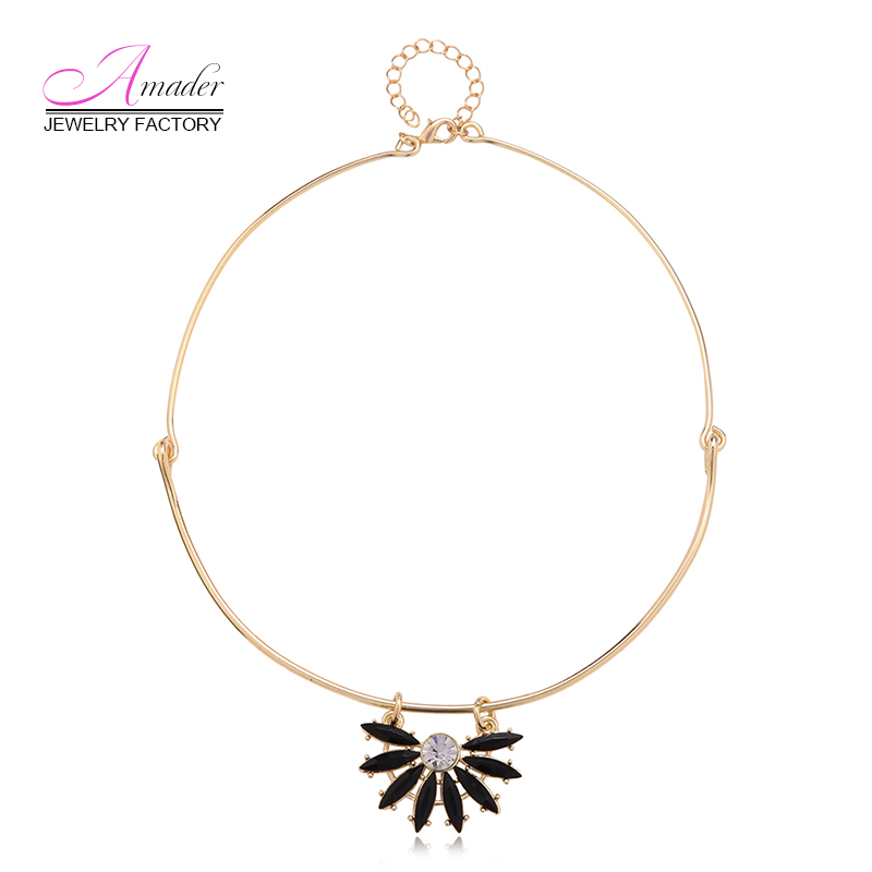 Hot Sale summer neklace trendy fashion pendant necklace party dress for women girls