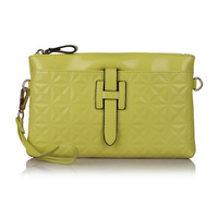 Wholesale 2015 Women Genuine Cow Leather Purses And Handbags Designer Clutch Famous Brand Evening Shoulder Messenger