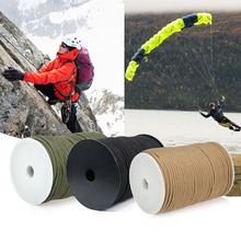 100M 550 Type Parachute Cord for Survival Parachute Cord Lanyard Camping Climbing Camping Rope Hiking Strand Rescue Tent Rope
