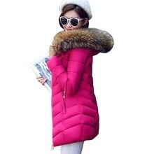 Women's winter jacket fashion 2016 women's new coat thick hooded winter coat women's coats warm women's down jacket