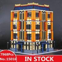 H&HXY IN STOCK Free Shipping F2017 15016 7968pcs MOC Creative The Apple University Set Building Blocks Bricks lepin DIY Toys