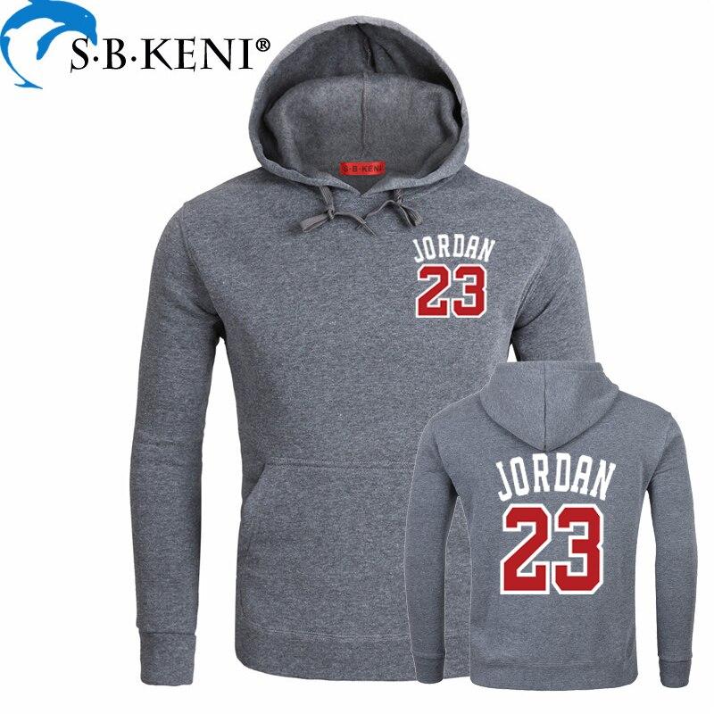 Harajuku Sweatshirts Print Jordan 23 Sportswear USA Fashion Men/Women Hooded Lining Unisex Pullovers Tops 2018 Bts Kpop Hoodies