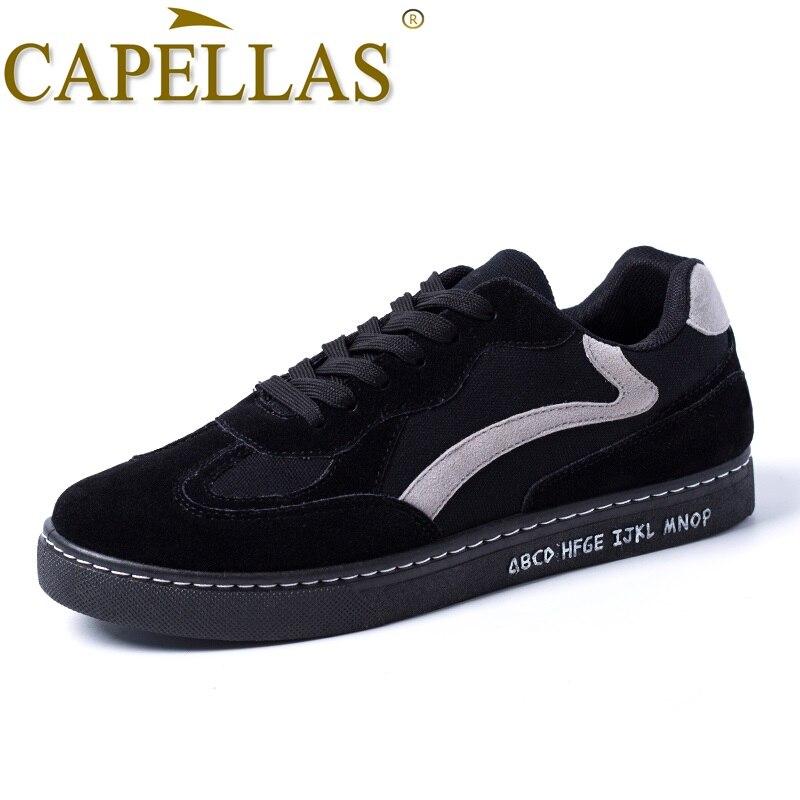 CAPELLAS Nuevos Hombres Primavera Zapatos Nueva Tendencia Hombres - Zapatos de hombre - foto 2