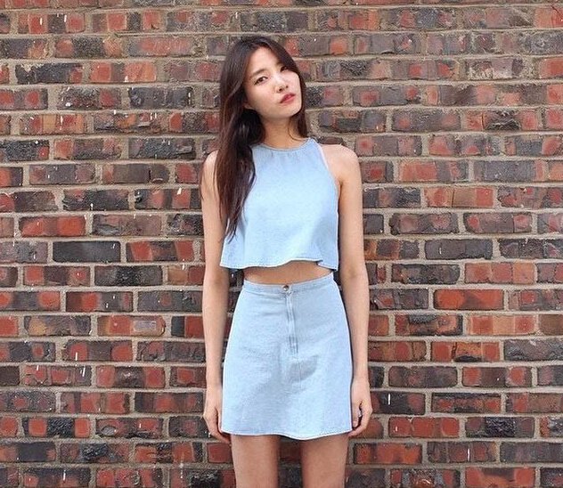 Tank Top and Skirt Set