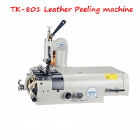 110V 220V TK 801 Leather Skiving Sewing Machine For Edge Scraping Synthetic Leather Shoes Plastic Articles