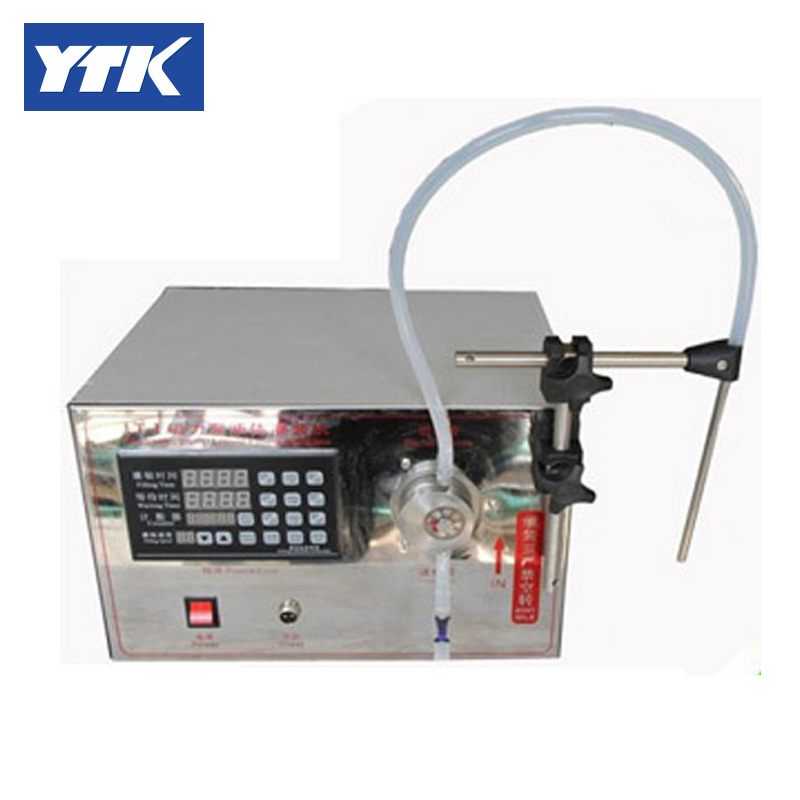 YTK 5ml to unlimited Semoi-Automatic Magnetic Pump Bottle Liquid Filling machine grind