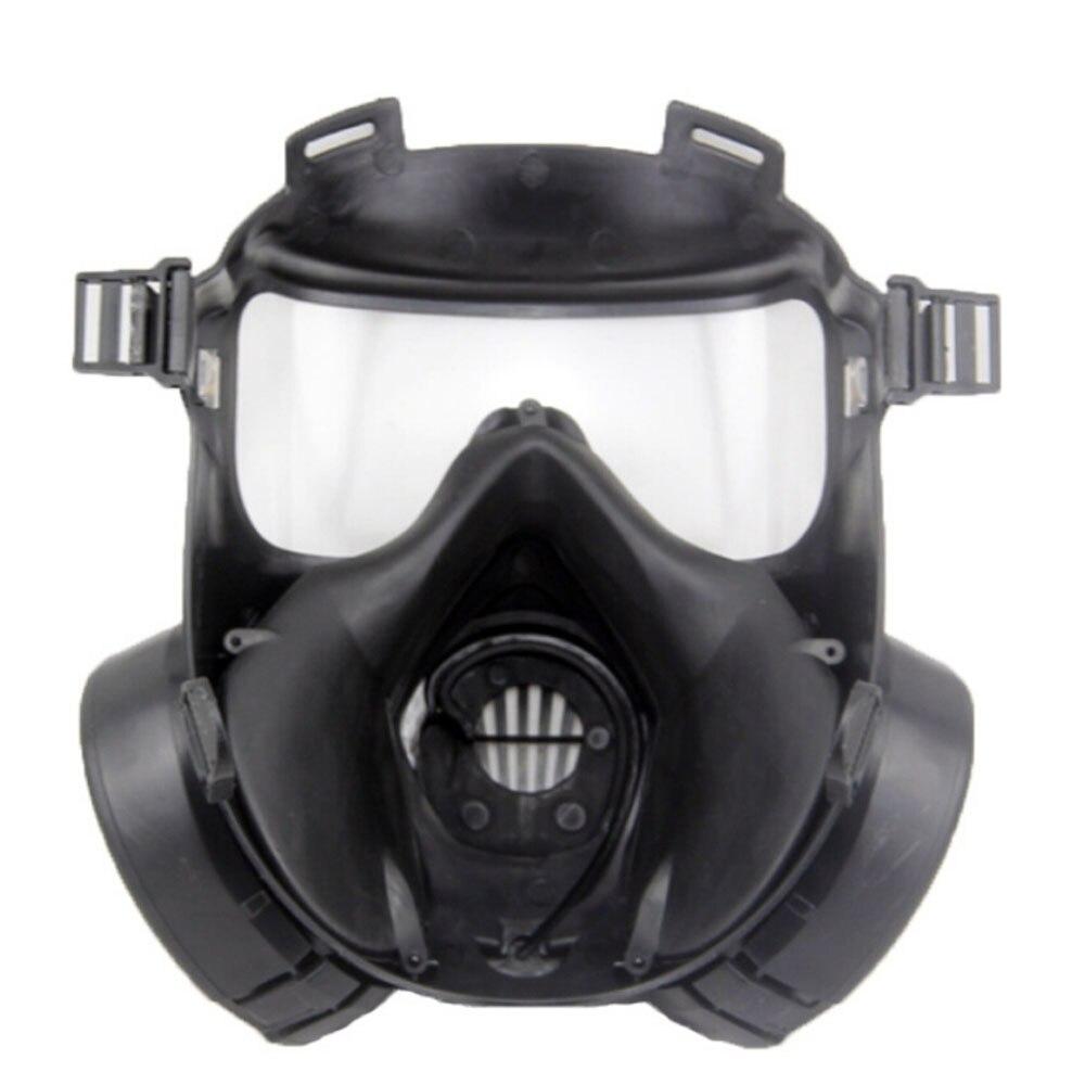 1 pcs Vélo Masque Large Vision De Protection Tactique Airsoft Masque Adultes Full Face CS Accessoires Avec Ventilateur Pour Camping