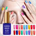 2017 Hot Sale Gel Nail Polish Long-Lasting Soak-off Varnish Beauty Manicure UV Gel 15ml 17 Summer Colors Optional Free Shipping