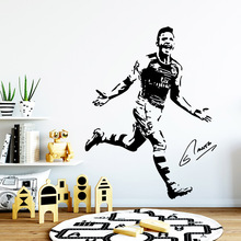 New Design football player Nursery Wall Stickers Vinyl Art Decals For Kids Rooms Diy Home Decoration Sticker Murals