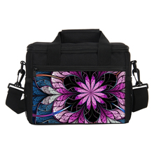VEEVANV Thermal Floral Printing Men's Lunch Bag Cooler Insulated Lunch Bag Women Lancheira Thermo Lunch Box Food Picnic Handbags