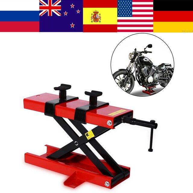 1100lbs Simple Motorcycle Lift Jack Mini Repairing Platform Heavy