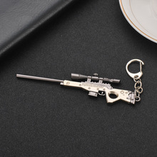 Fort Zinc weapons Metal nite model toy fornite Keychain Gun Sniper rifle awm nit figure fortnit kids gift Droshipping hot sale A