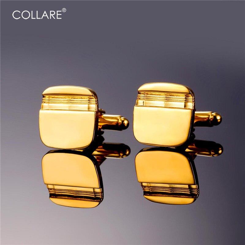 Collare boutons de Manchette Pour Hommes Vintage Or Or Rose Noir Argent  Couleur boutons de Manchette Manchette Bouton En Gros De Luxe hommes Bijoux  C122 3408b47a3b90