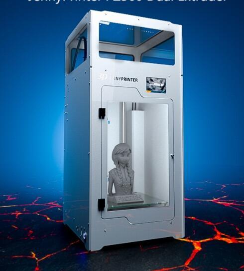 2018 Новинка! Собранные JennyPrinter4 Z370 двойной экструдер высокая точность 3D-принтеры расширен для Ultimaker 2 UM2