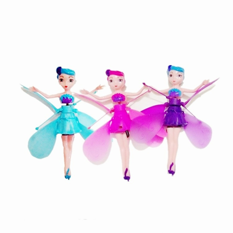 купить DIY Flying Fairy Dolls Learning & Education Infrared Induction Control Flying Angel Doll Baby Toys For Girls Xmas Gift по цене 545.61 рублей